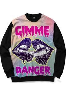Blusa Bsc Gimme Danger Full Print - Masculino