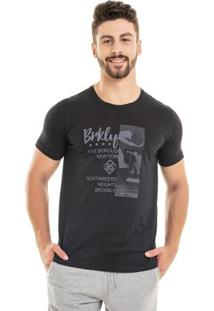 Camiseta Brkly Preto