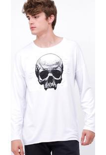 Camiseta Raglan Caveira