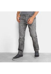Calça Jeans Skinny Fatal Masculina - Masculino-Preto