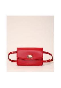 Bolsa Pochete Pequena Vermelha