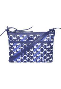 Privalia. Bolsa Azul Marinho Branca Feminina Lacoste ... f988e43c01