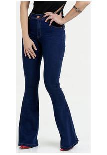 Marisa. Calça Feminina Jeans Stretch Flare Biotipo 646d175b191