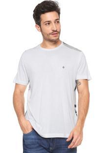 Camiseta Forum Folhagens Branca