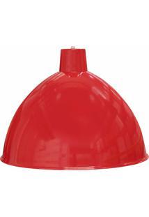 Luminária Pendente Design Td 822 100W-Taschibra - Vermelho