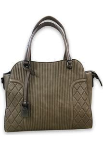 Bolsa Sys Fashion 8517 - Feminino-Cáqui