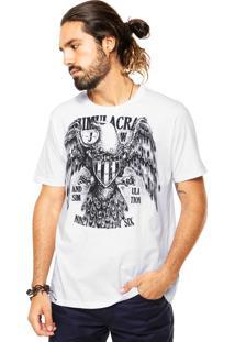 Camiseta Colcci Gavião Branca