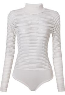 Body Bobô Vivi Tricot Off White Feminino (Off White, G)