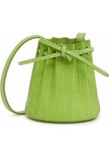 Mansur Gavriel Bolsa Bucket Mini Com Cordão De Ajuste - Verde
