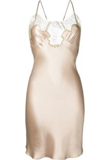 Gilda & Pearl Camisola De Seda 'Gina' - Neutro