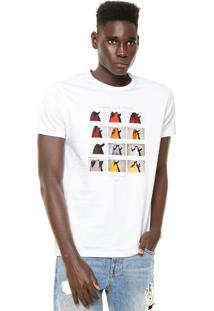 Camiseta Billabong Tails Branca