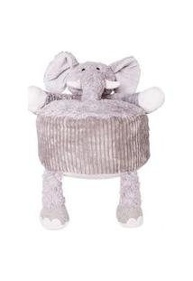 Puff Elefante De Pelúcia
