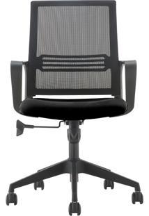 Cadeira Diretor Mko-024-Marka Móveis - Preto