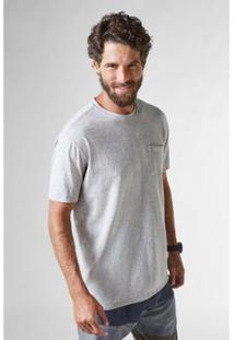 Camiseta Reserva Ecologica - Masculino-Bege