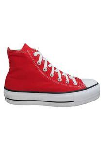 Tênis Converse Chuck Taylor All Star Platform Hi Vermelho Ct04940002.42