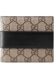 Gucci Carteira 'Gg Supreme' - Neutro