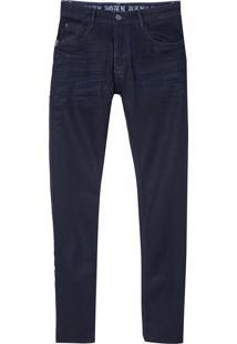 Calça John John Skinny Garopaba 3D Jeans Azul Masculina (Jeans Escuro, 36)
