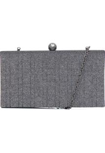 Clutch Dumond New Diamond Cinza