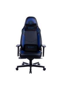 Cadeira Gamer Husky Gaming Avalanche 900, Preto E Azul, Com Almofadas, Reclinável Com Sistema Frog, Descanso De Braço 3D - Hgma086