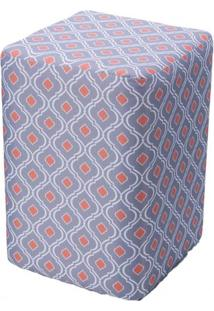 Puff Box Cashier Conch Retangular 46 Cm (Alt) - 50749 - Sun House