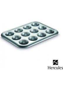 Forma Em Aço Carbono Para 12 Cupcakes 38 X 29,5 X 3,5 Cm Foa215-12