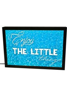 Luminária Prolab Gift Lightbox Little Things Preta