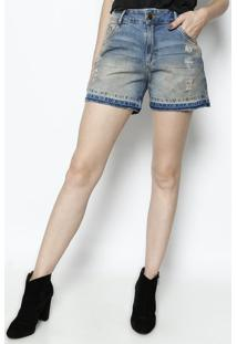 Bermuda Jeans Estonada- Azuldimy