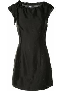 Yang Li Blusa Destroyed - Preto