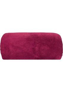 Cobertor Camesa Queen Microfibra 2,40M X 2,20M Vinho