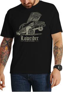Camiseta Cheiro De Gasolina Low Rider Preta