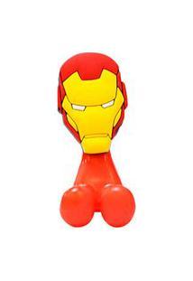 Porta Escova De Dente Avengers Homem De Ferro - Etident