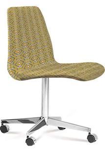 Cadeira Eames Loft Amarelo E Cinza