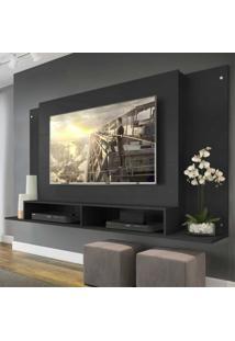 Painel Tã³Kio Multimã³Veis Para Tv De Atã© 60 Polegadas Com Nicho - Preto - Incolor/Preto - Dafiti