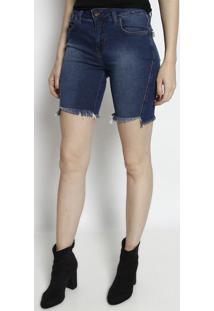 Bermuda Jeans Estonada- Azul- Tritontriton