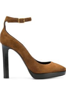 67e0496823 Sapato Marrom Salto Alto feminino