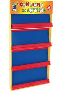 Estante Livreiro Palhaço Azul E Vermelho - Casabras