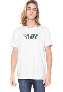 Camiseta Volcom Silk Melt Branca