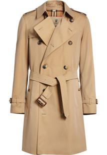 Burberry Trench Coat 'The Chelsea Heritage' - Neutro