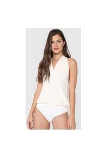 Body Frente Única Cantão Boutique Off-White