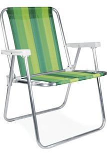 Cadeira Alta Alumínio - 2222 - Unissex