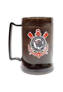 Caneca Gel Corinthians Escudo Fumê
