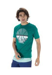 Camiseta Fatal Estampada 23020 - Masculina - Verde