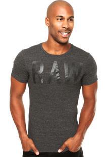 Camiseta G-Star Pontos Cinza