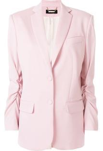 Styland Blazer Com Botões - Rosa