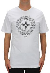Camiseta Mcd The Eye - Masculino-Branco