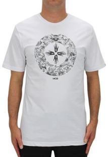 Camiseta Mcd The Eye Masculino - Masculino-Branco