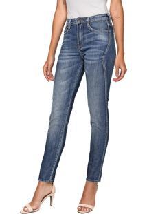 Calça Jeans Carmim Skinny Houston Azul