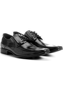 Sapato Social Couro Shoestock Bico Quadrado