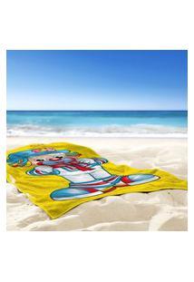 Toalha De Praia / Banho Patata Com Gravata - Produto Licenciado Único