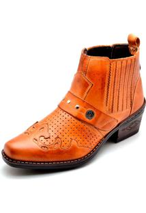 Bota Country Clube Do Sapato De Franca Vaccaro Whisky